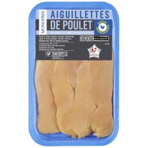 Monoprix Aiguillettes de Poulet x8 210g