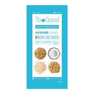 Toogood Biscuits Croquants Avoine & Miel Noix De Coco 125G