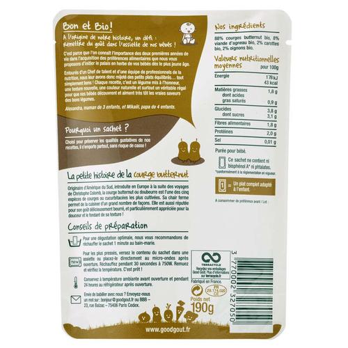 Good Goût courges butternut Sauté d'Agneau 190g
