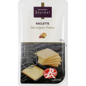 Monoprix Gourmet Raclette Lait d'Origine France 350g