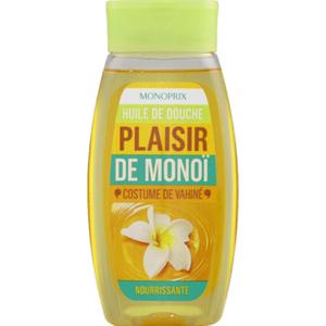 Monoprix Gel douche hydratant Plaisir de Monoï 100 ml