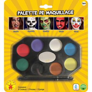 Palette de maquillage - 8 couleurs
