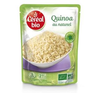 Céréal Bio Quinoa Au Naturel 1 Portion 220g