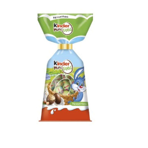 Kinder Mini Eggs Au Lait Et Noisettes 182g