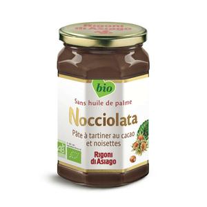 Nocciolata Pâte à tartiner au cacao et noisettes biologique 700g.