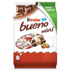 Kinder Bueno Mini barres de chocolats 216g