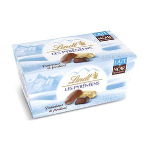 Lindt Bouchées De Chocolat Au Lait Extra-Fin Fourré Et Intérieur Rafraîchissant Lacté 219g