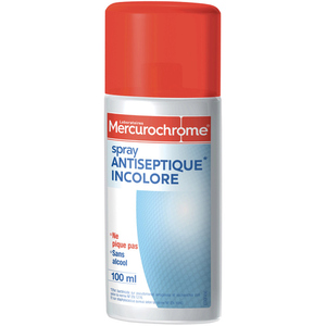 Mercurochrome Spray antiseptique 100ml