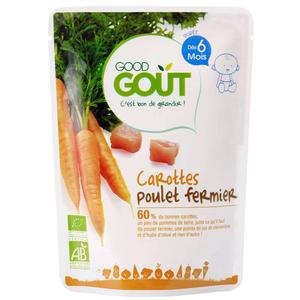 Good Goût Bio Carottes Poulet  Dès 6 Mois 190g