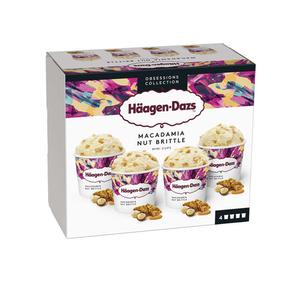 Haagen Dazs Minipot Macadamia Prem 324g