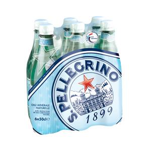 San Pellegrino eau minérale gazeuse le pack de 6x50cl