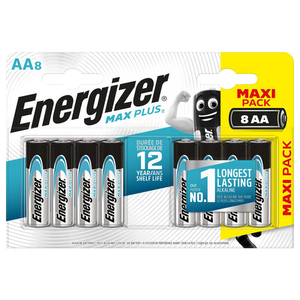 Energizer 8 Piles Lr06/Aa Max Plus.