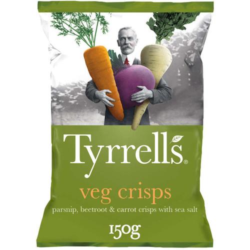 Tyrrell's Chips Betterave Panais, carotte 150g