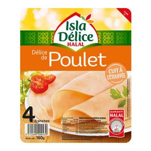 Isla Délice Delice de poulet halal 160g