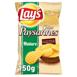 Lay's Chips paysannes nature 150 g.