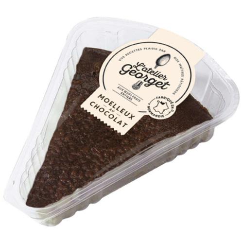 Atelier Georget Part de Moelleux au Chocolat 90g