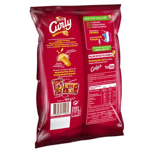 Curly à la cacahuète 160g