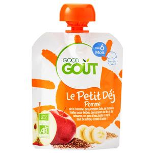 Good Goût Compote Bio Pomme Dès 6 Mois 70g