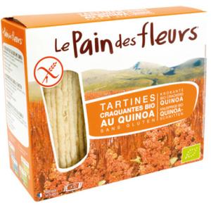 [Par Naturalia] Le Pain Des Fleurs Tartines Craquantes Au Quinoa Sans Gluten 150g