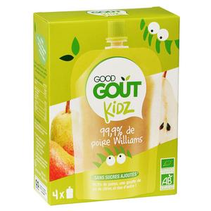 Good Goût Kidz purée de poires Bio 4x90g