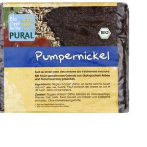 [Par Naturalia] Pural Pain Pumpernickel Bio 375g