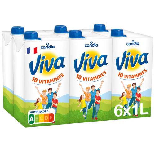 Viva lait vitaminé le pack de 6x1L
