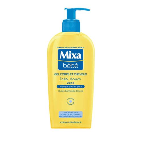 Mixa Bebe Gel Tres Doux 2 en 1 Corps et Cheveux 250ml