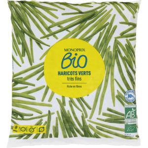 Monoprix Bio Haricots Vert très fins 600g