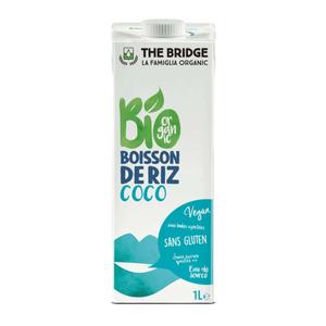 [Par Naturalia] The Bridge Boisson Au Riz Rice Drink Coco 1L Bio