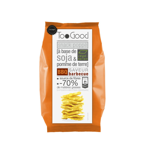Toogood Snack poppé Barbecue 85g.