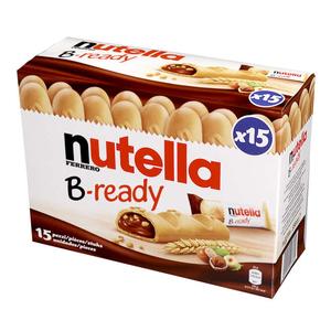 Nutella B-Ready Biscuits fourrés à la pâte à tartiner x 15 portions