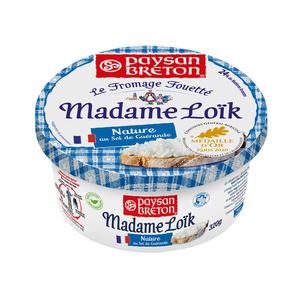 Paysan Breton Mme Loïk fromage fouetté au Sel 320g.