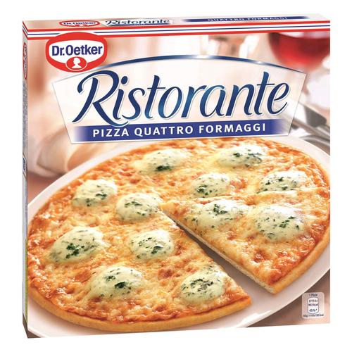 Dr. Oetker Ristorante pizza surgelée 4 fromages 335g