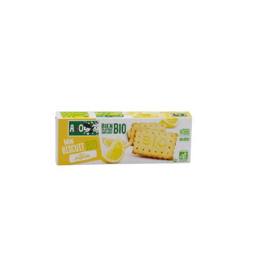 A&O Biscuit Sucré Bio Sans Gluten Citron 132G.