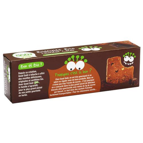 Good Goût Biscuits Bio Chocolat Cacao 110g.