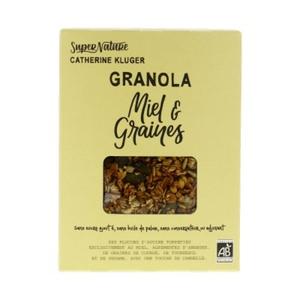 [Par Naturalia] Catherine Kluger Granola Miel & Graines 350G Bio