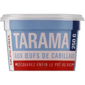 Monoprix Tarama cabillaud 250g