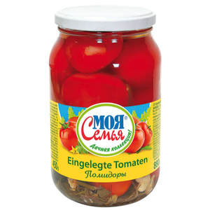 Moja Semja Tomates marinées au sel 880g