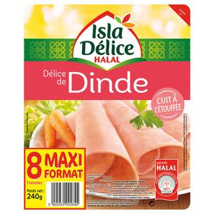 Isla Délice Delice de dinde halal 240g
