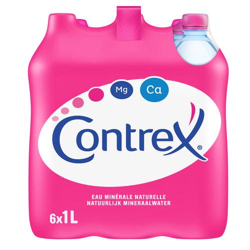 Contrex eau minérale naturelle le pack de 6 x 1L