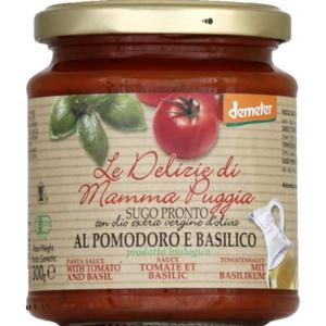 [Par Naturalia] Le Delizie Di Mamma Sauce Tomate Basilic 300G Bio