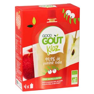 Good Goût Kidz gourde Pomme Bio 4x90g