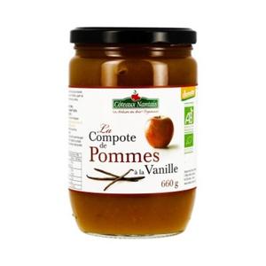 [Par Naturalia] Coteaux Nantais Compote Pomme Vanille 660G Bio