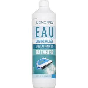Monoprix Eau Déminéralisée 1l.
