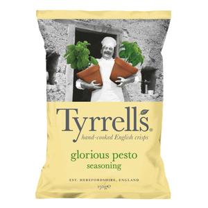 Tyrrell's chips de pomme de terre saveur pesto et parmesan 150g