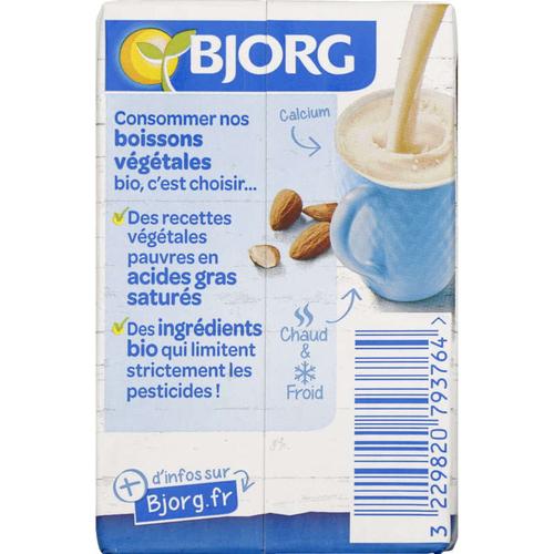 Bjorg Lait d'Amande Léger Calcium Bio  50cl