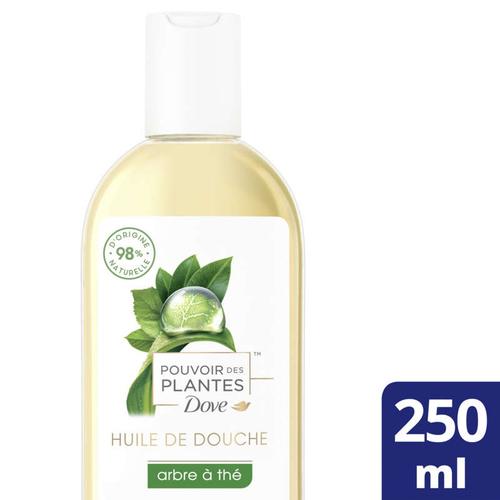 Dove Huile de Douche Pouvoir des Plantes Arbre à Thé 250ml