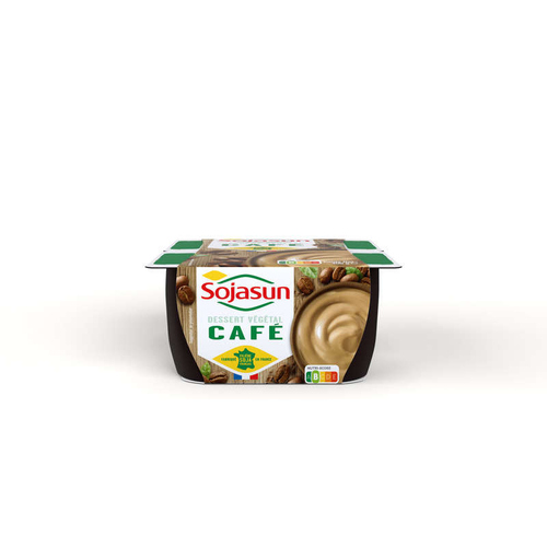 Sojasun Dessert végétal café 4x100g