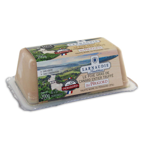 Larnaudie Foie Gras de Canard Entier Truffé du Perigord 200g