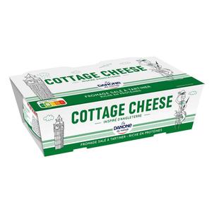 Danone du Monde Cottage Cheese Fromage Frais Salé 2x200g